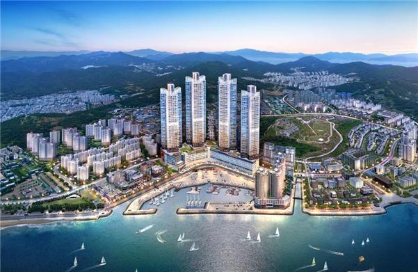 여수 웅천 바다 바로 앞, '여수 웅천 골드클래스 더 마리나', 홍보관 성황리 오픈