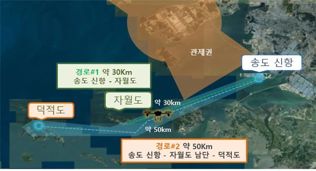 인천공항공사, K-드론시스템 실증사업 2개 분야 최종 사업자 선정