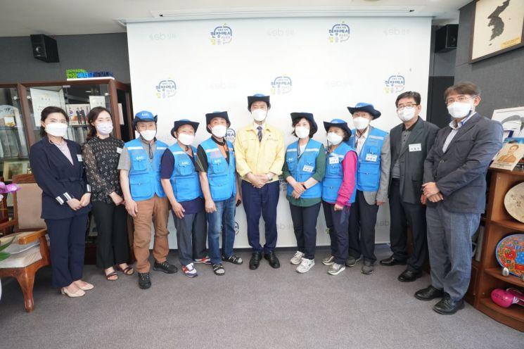 성북구 '아파트 어르신보안관' 발족