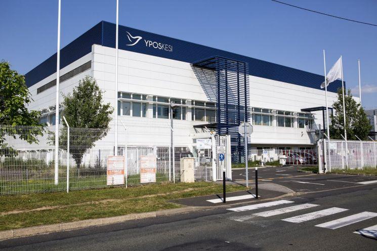 SK㈜가 인수한 프랑스 유전자·세포 치료제 CMO 이포스케시의 생산 공장 전경.