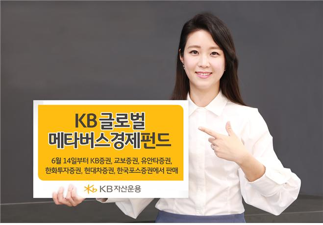 KB자산운용, 메타버스 관련 펀드 업계 최초 출시