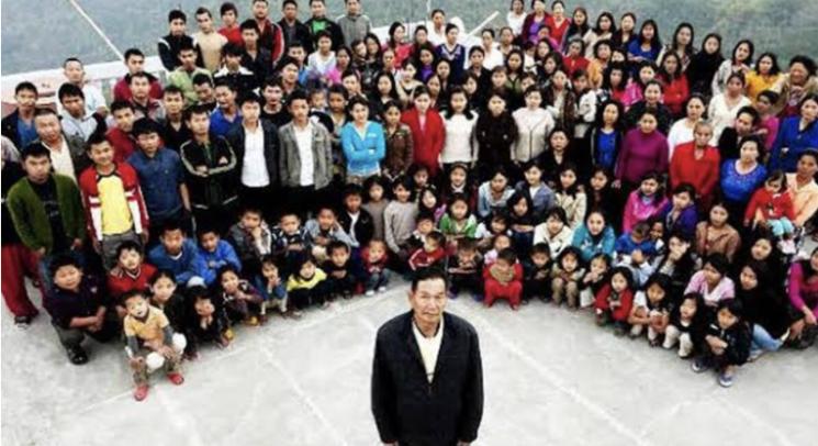 아내만 38명…'세계 최대 가족' 거느린 印 남성 76세로 사망
