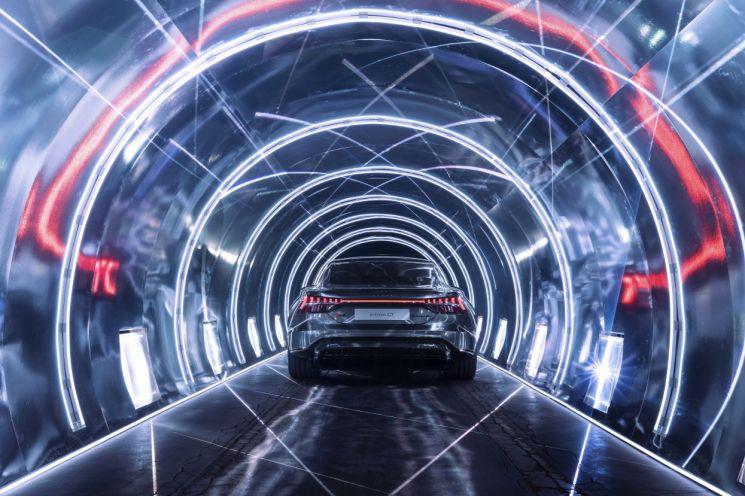 한국타이어, 아우디 e-트론 GT 신차용타이어 공급