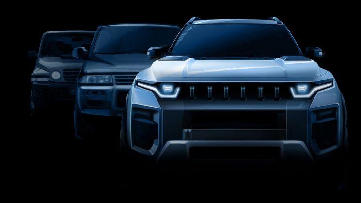 쌍용차가 2022년 새 중형 SUV 모델인 J100(프로젝트명)을 출시하기 위해 본격적인 개발에 돌입했다고 15일 밝혔다.  사진제공=쌍용차