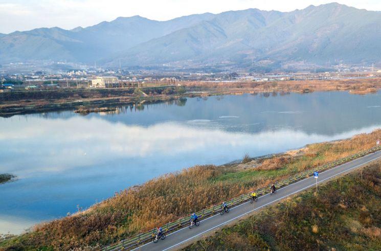 구례군, 섬진강 활용해 명품 자전거 레포츠 도시로 도약한다