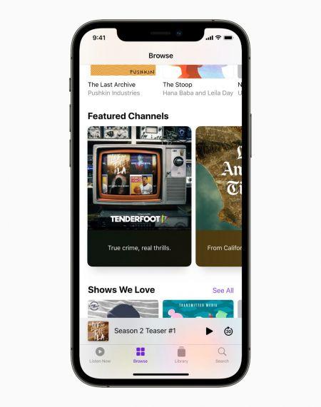 애플은 16일 프리미엄 팟캐스트 구독을 위한 글로벌 마켓플레이스인 '애플 팟캐스트 서브스크립션(Apple Podcasts® Subscriptions)'을 출시했다고 발표했다. 사진제공=애플