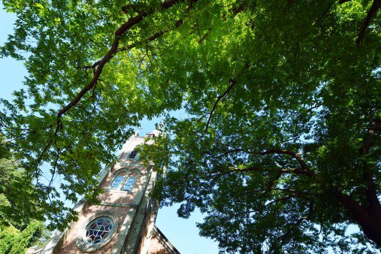 110여년이 된 풍수원 성당