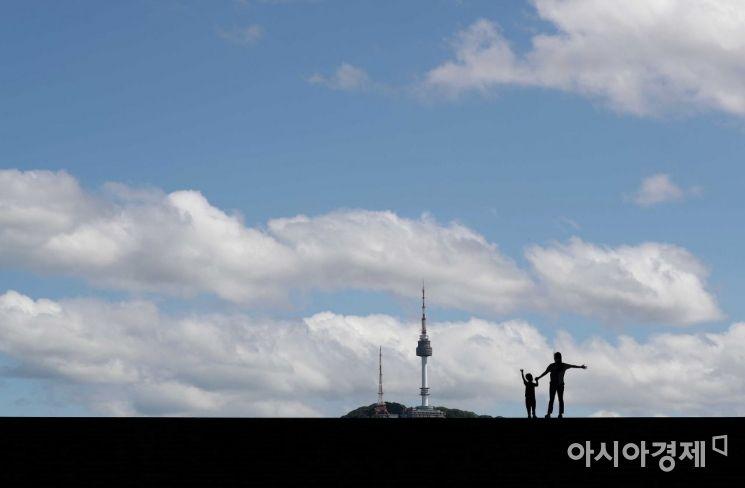 [포토]기분 좋아지는 파란 하늘