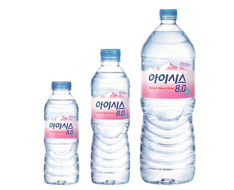 롯데칠성음료, '아이시스 8.0' 대한적십자사에 75만개 전달