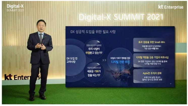 """신수정 KT 부사장 """"생존과 성장 달린 DX, 디지털 역량 갖춘 기업과 협업해야"""""""