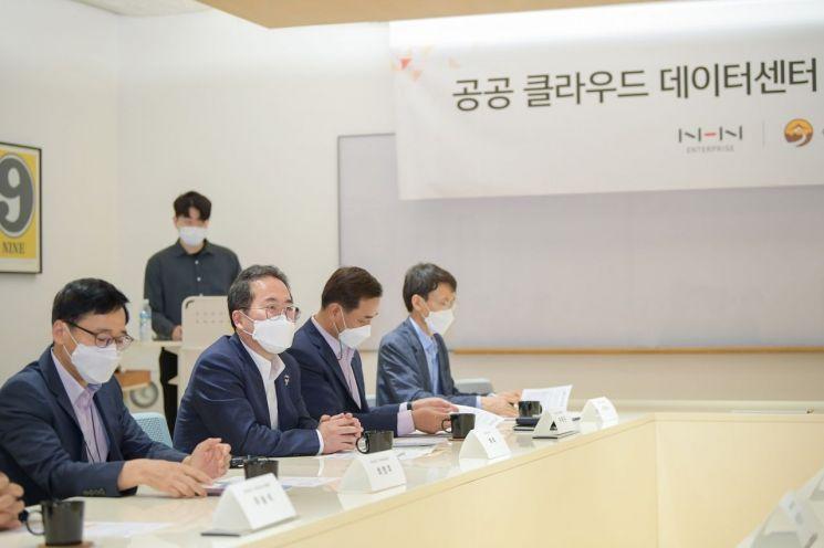 """허석 순천시장 """"NHN 데이터센터를 원동력으로 미래 신산업 육성"""""""