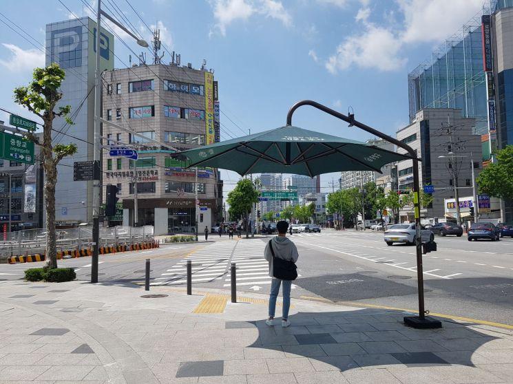 중랑구, 폭염 예방 그늘막 5개소 추가설치 총 93개소 운영
