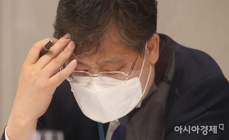 [포토] 안일환 경제수석 '부동산 고심'