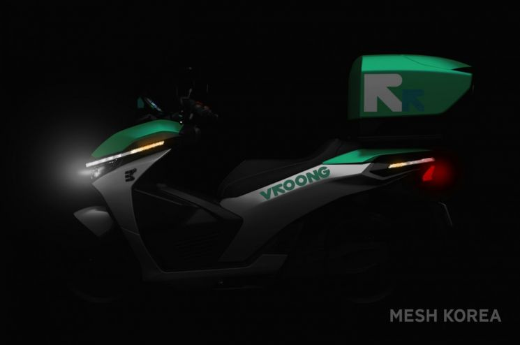 메쉬코리아, 배터리 교환형 전기바이크 라스트마일 배송 투입