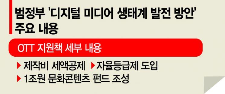 """""""글로벌 K-OTT 5개 키운다더니"""" 1년간 발도 못 뗀 범정부 디지털미디어정책"""