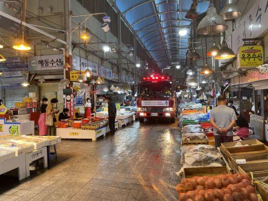광주 서부소방서 '소방차 길 터주기' 캠페인 전개