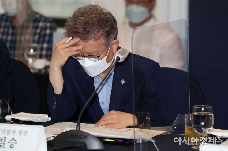 권칠승 중소벤처기업부 장관(규제자유특구심의위원회 위원장). [사진제공=아시아경제DB]