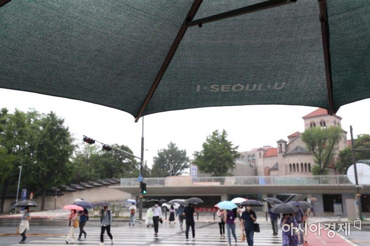 [포토]우산 속 우산