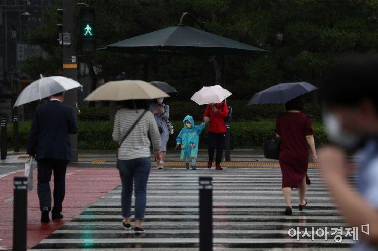 [포토]'비가 내려요'