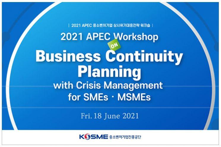 중기부-중진공, APEC 中企 상시위기대응전략 워크숍