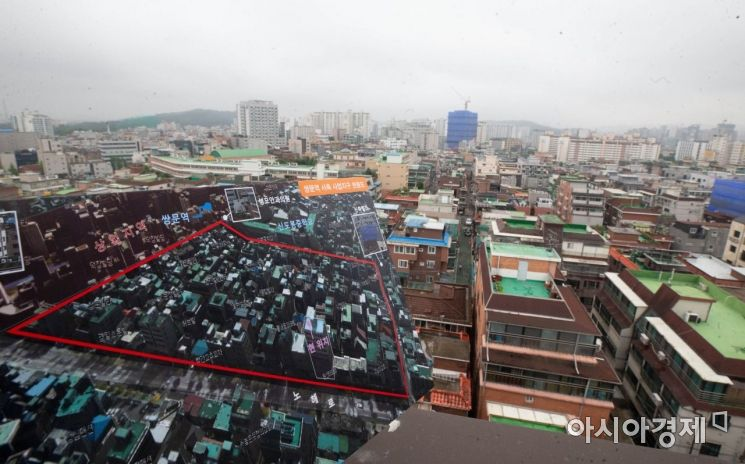 [포토] 쌍문역 인근 도심 공공주택 복합사업 후보지 모습