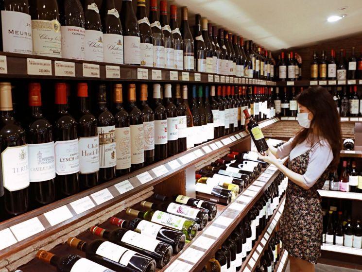 롯데백화점은 오는 24일부터 전국 27개 백화점과 아울렛에서 상반기 최대 와인 할인행사를 진행한다.