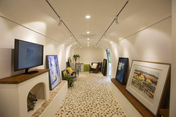 현대건설, 이동형 갤러리 서비스 '디오리지널 홈갤러리' 첫 선