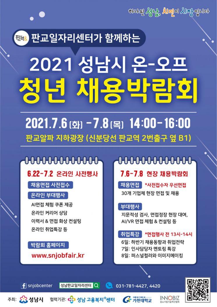 성남시, 청년 채용박람회 개최