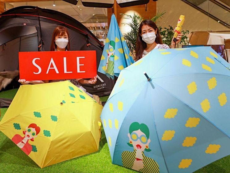 롯데백화점이 오는 24일부터 다음달 11일까지 '힘내라 대한민국!'을 주제로 정기 세일을 한다.