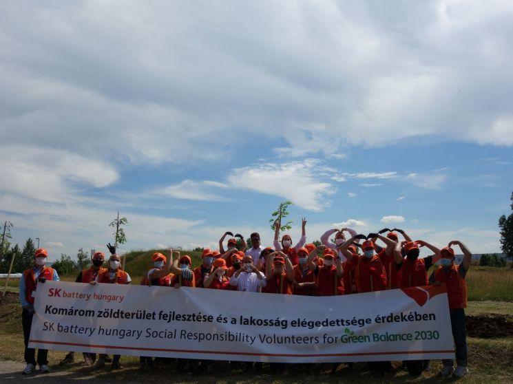 SK이노 헝가리 법인, 지역사회 위한 자원봉사활동 첫 걸음