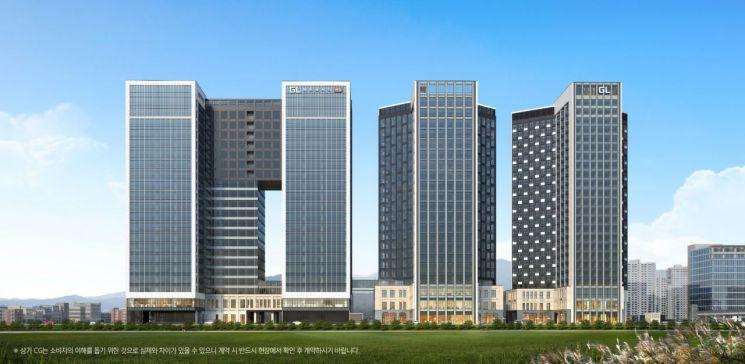 한강 품은 지식산업센터 'GL메트로시티 한강' 지난 21일부터 계약 실시
