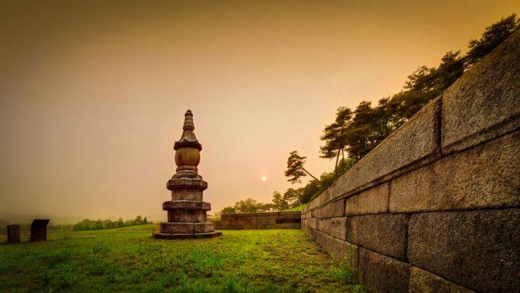 양주 회암사지 사리탑