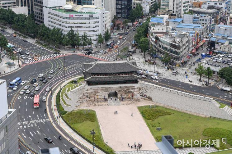 [포토]남대문 후문 시민 개방