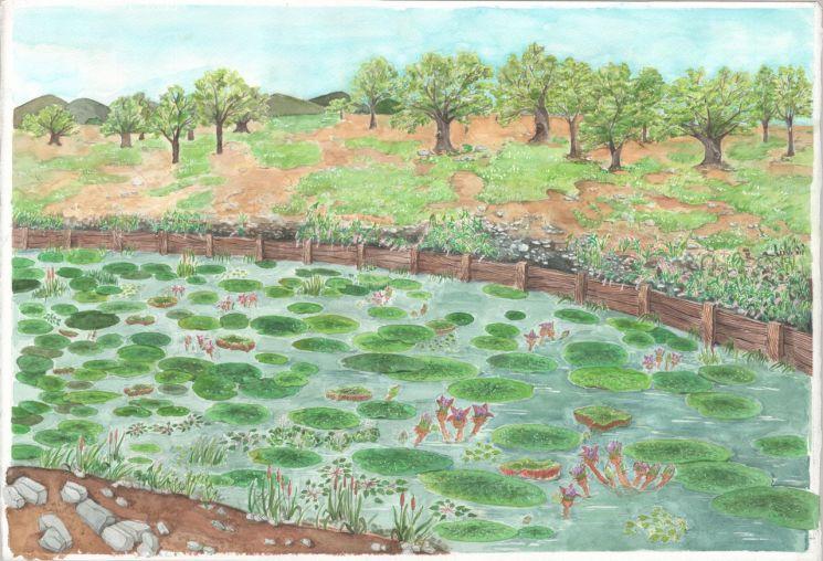 경주 월성의 5세기 풍경
