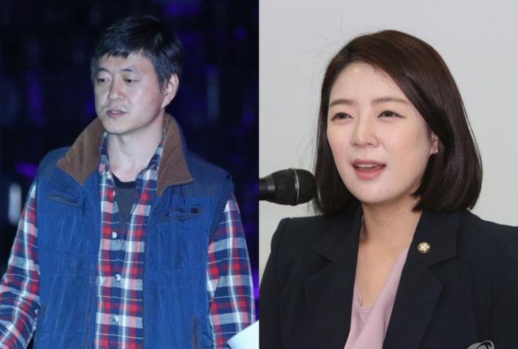 문재인 대통령의 아들 문준용 작가(왼쪽), 배현진 국민의힘 최고위원. /사진=연합뉴스