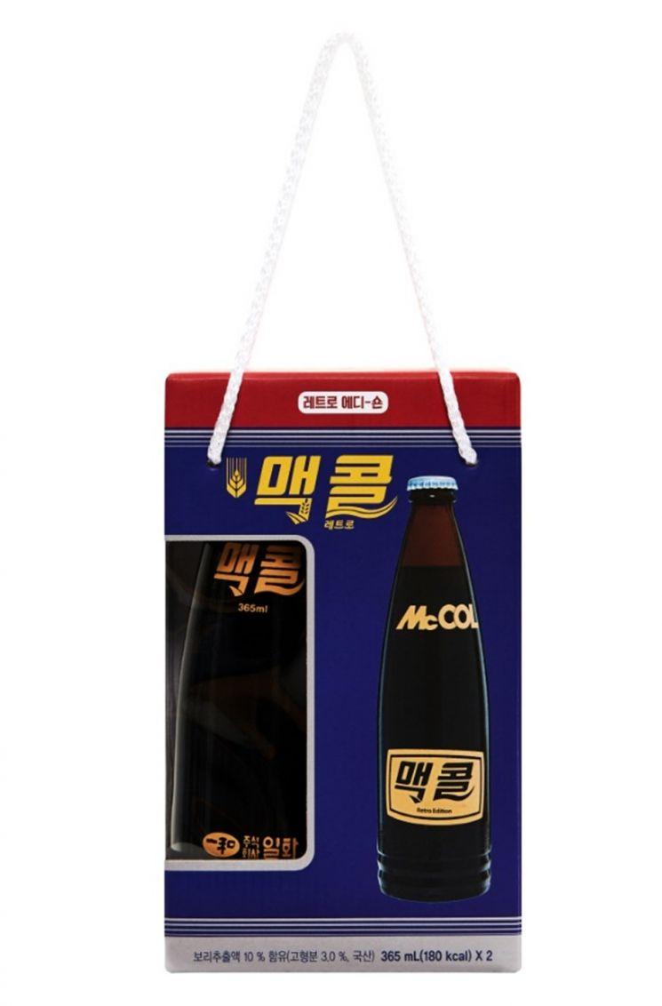 일화, 복고 분위기 살린 '맥콜 레트로 에디션' 한정판 출시