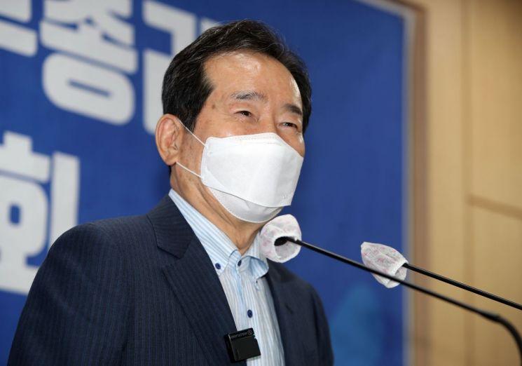 더불어민주당 대권주자인 정세균 전 국무총리 / 사진=연합뉴스