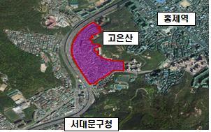 서울 서대문구 홍제동 저층주거.