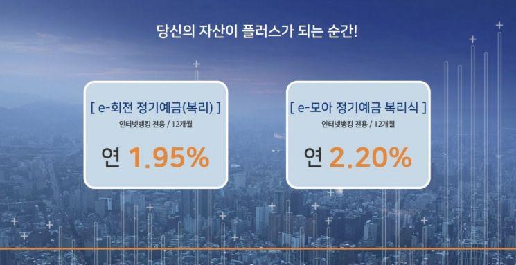 모아저축은행이 2.2% 금리를 제공하는 예금특판을 실시한다. 사진=모아저축은행 홈페이지
