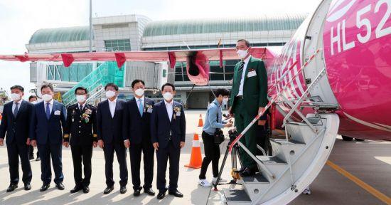 무안~김포 간 무안국제공항 하늘길 열렸다