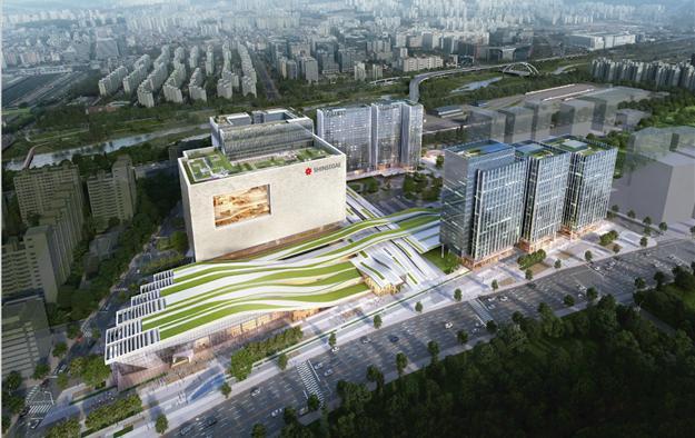 수서역 복합환승센터 조감도. 국가철도공단 제공