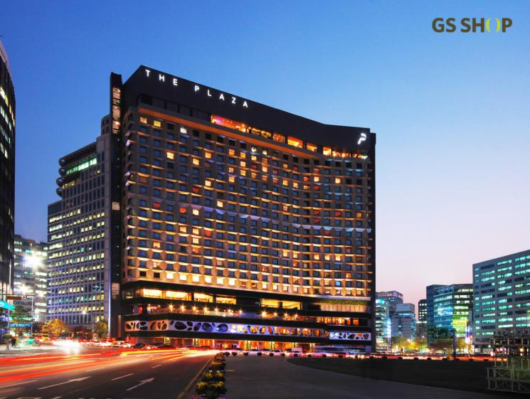 서울 중구에 위치한 더 플라자 호텔.