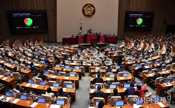 국회 본회의 모습./윤동주 기자 doso7@