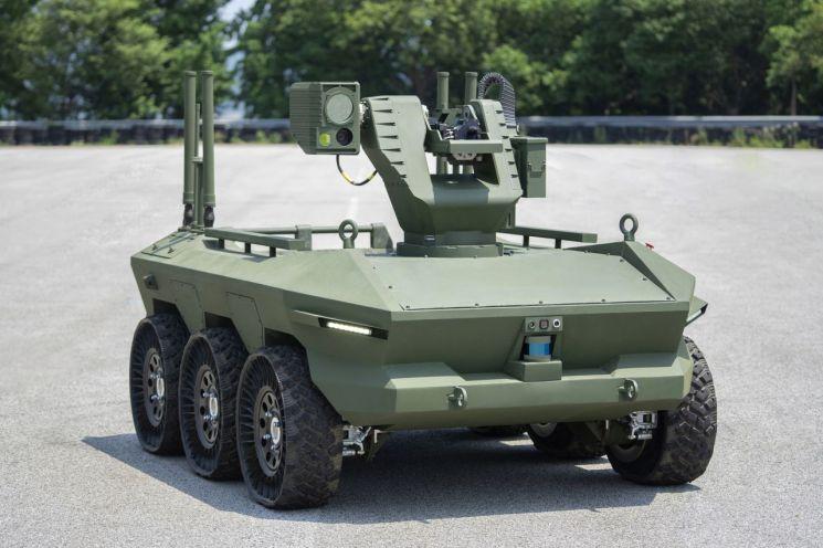현대로템, 국내 최초 군용 무인차량 납품