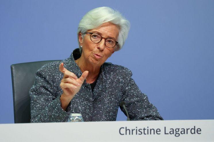 크리스틴 라가르드 ECB 총재 [이미지출처=로이터연합뉴스]