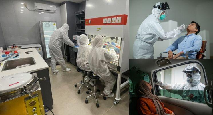 LX인터네셔널, 印尼 정부·한인사회에 산소발생기 60대 지원