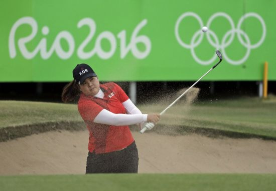 박인비가 일본 도쿄올림픽에서 2연패에 도전한다.