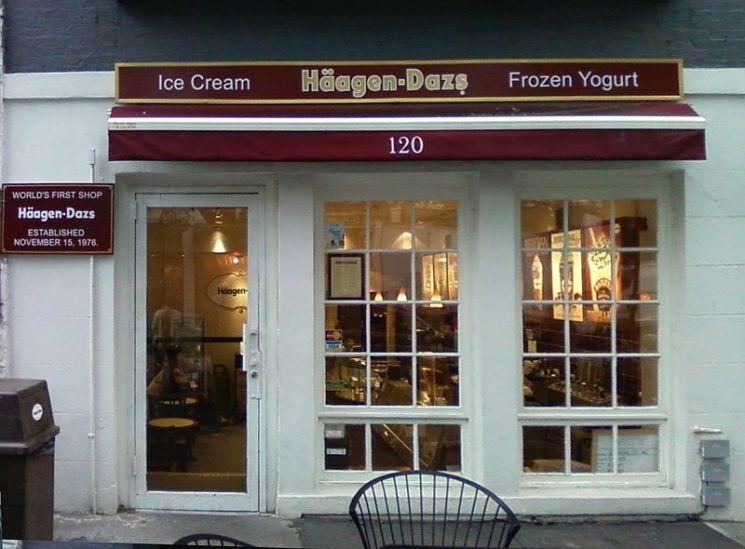 뉴욕에 있는 하겐다즈 1호점./사진=위키피디아