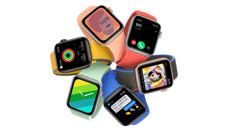 지난해 9월 출시해 많은 인기를 끌고 있는 애플워치SE. ⓒApple