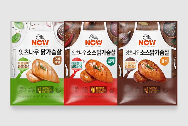 [랭킹닭컴의 실온보관 닭가슴살 잇츠나우가 전국 이마트에서 판매된다. (사진=㈜푸드나무)]
